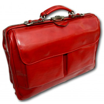 McFermoir laptop XL in de kleur rood.